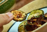 Cool Ranch Zucchini Chips
