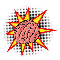 brain explosion. the intelligence of the human mind