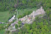Castle Roetteln in Loerrach