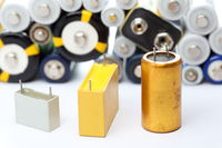 capacitors and batteries