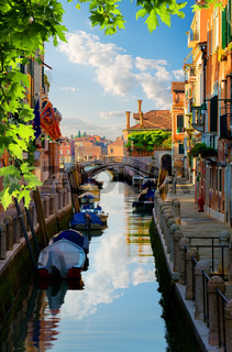 Venetian canal Italy