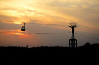 Bedaghat cable ropeway ride, Madhya Pradesh, India