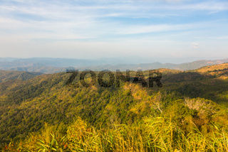 The picturesque landscape of Dalat