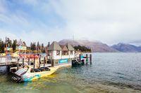 Queenstown Waterfront in New Zealand