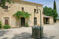 Hof der Kapelle von Sant Miquel