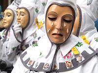 Lauratalgeist - fool figure of the swabian-allemanic Fasnet