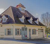 Fire station of the volunteer fire departement Singen-Friedingen