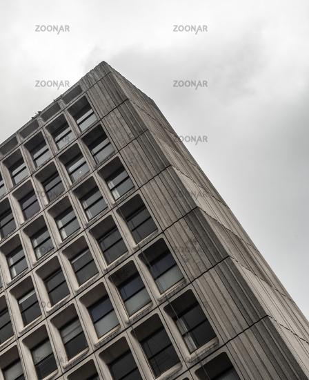 Bleak Modernist Office Block
