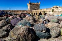 view of medina of essaoiura morocco, photo as background