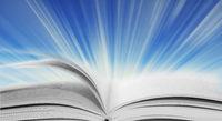 Luminous open book