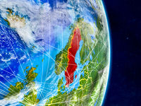 Sweden on Earth with networks