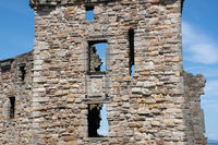Castle Walls  St Andrews Scotland