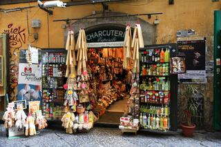 Pasta Geschäft in der Altstadt