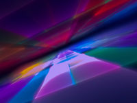 Abstract blurred perspective background -digitally generated 3d illustration