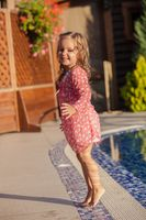 The luxurious holiday for a little girl
