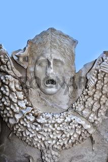 Sarcophagus Figure, Side Museum, Side, Turkey