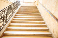 Marble staircase with stairs