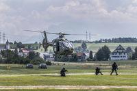 Special unit lynx of the Lucerne police during an exercise, Beromünster, Lucerne, Switzerland, Europ