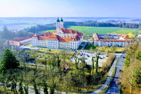 Monastery Roggenburg from above