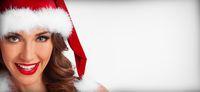 Santa girl portrait