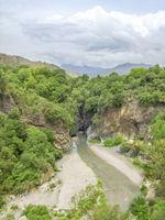 Alcantara Gorges entrance