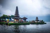 Pura Ulun Danu Bratan temple, bedugul, Bali, Indonesia