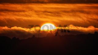 Sunset Over Trinidad Head, Trinidad, California, USA