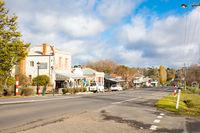Malmsbury Main Street Victoria Australia