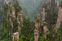 Tianzi Avatar mountains nature park - Wulingyuan China