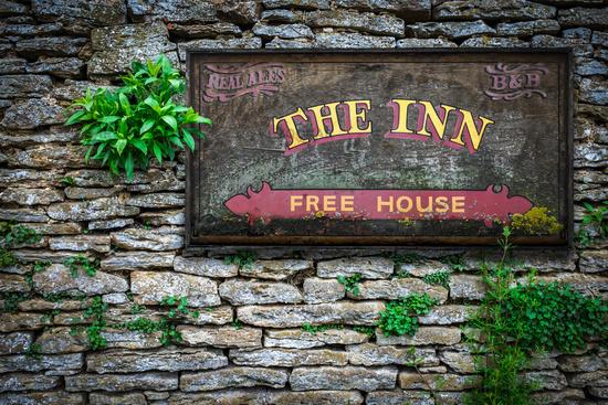 Typical English Inn And Pub