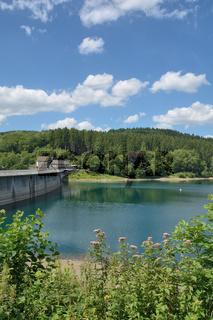 Aggertalsperre im Bergischen Land,Nordrhein-Westfalen,Deutschland