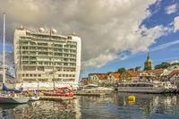 Cruise Ship Azura At Stavanger, Norway
