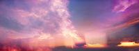 himmel dramatisch panorama banner
