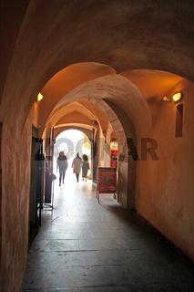 Durchgang in Prager Altstadt