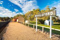 Muckleford Train Station Victoria Australia