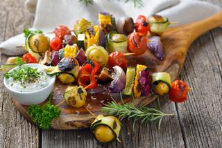 Gemüsespieße vom Grill