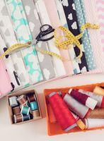 cotton fabric material background