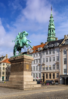 The equestrian statue of Absalon, Copenhagen