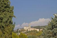 Albisano - Lookout over Lake Garda