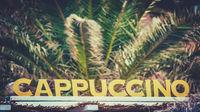 Beach Cafe Cappuccino Sign