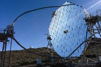 MAGIC telescope on La Palma