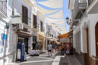 Narrow Streets in Nerja, Spain