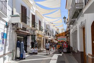 Narrow Streets in Nerja, Spain
