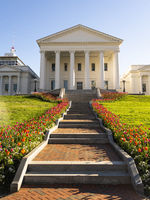 Virginia State Capital Building Downtown Urban Center Richmond