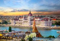 Landmarks in Budapest