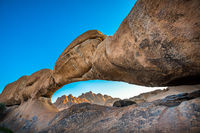 Spitzkoppe, unique rock formation in Damaraland, Namibia