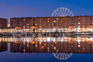 Albert Dock Liverpool England
