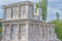 Low Relief Figures Sebasteion Aphrodisias, Anatolia, Turkey