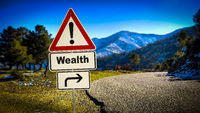 Street Sign to Wealth
