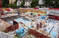 Construction site in Kronberg